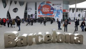 MWC18 Mobile World Confress Barcelona Messaggio