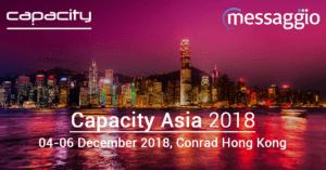 Capacity Asia 2018 Messaggio