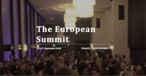 The European Summit 2018 Messaggio