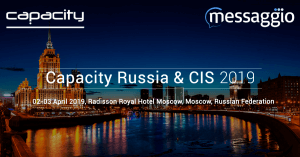 Messaggio at capacity moscow russia and cis