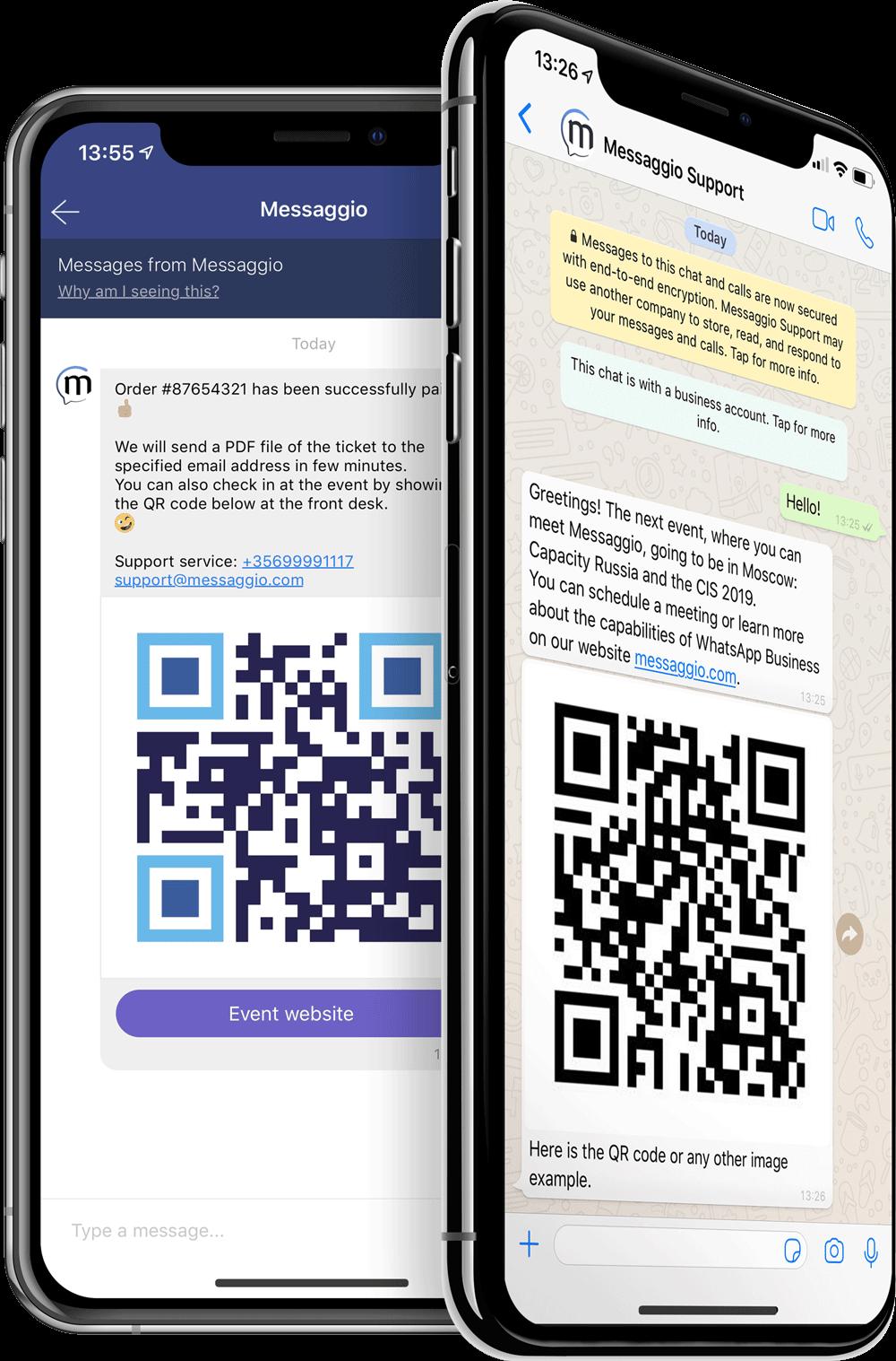Multichannel messaging Messaggio
