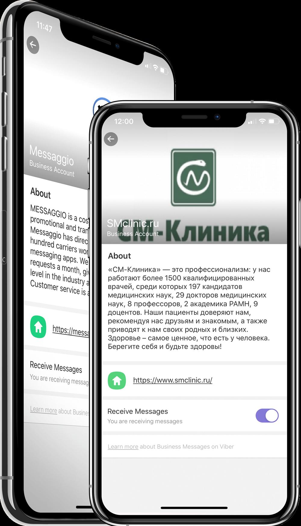 Messaggio.com Multichannel messaging platform. Viber, WhatsApp, SMS & RCS business messaging.